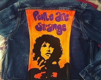 People Are Strange (Jim Morrison / Doors Tribute) Vintage Denim Jacket