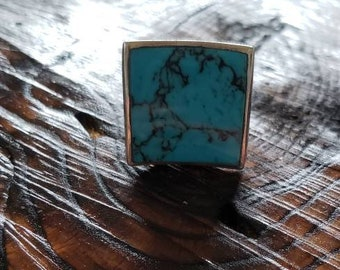 Statement Turquoise Ring!
