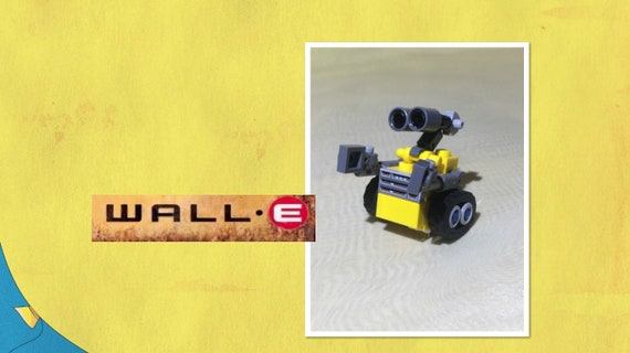 Digital Gift Lego Robot Wall E Download Instruction Lego Etsy