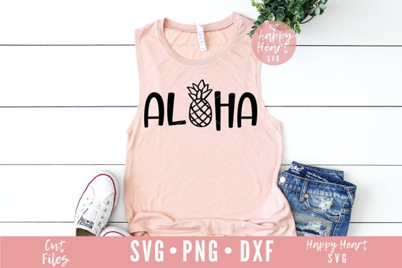 Aloha Svg Summer Svg Dxf And Png Instant Download Aloha Etsy