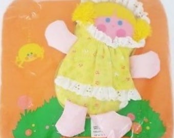 54b99b48565082 Vintage 1978 Fisher Price Little Miss Muffet Cloth Play Pillow  447