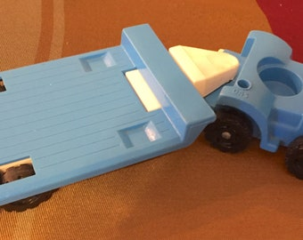 More Vintage 1970's Fisher Price Little People Vehicles