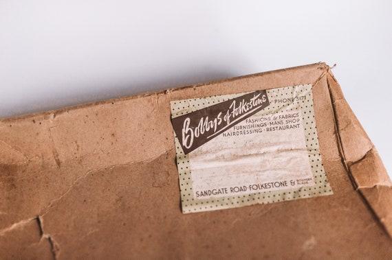 Vintage 50s FassBender Crocodile Skin Kelly Purse… - image 8