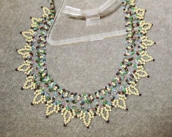 Princess Cream Necklace