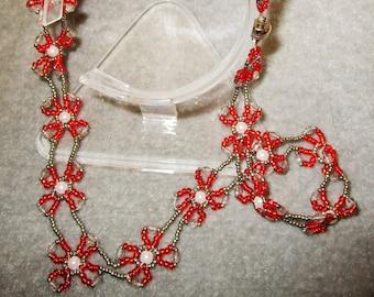 Dogwood Zest Necklace & Earrings