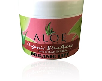 Aloe BlemAway Organic Face & Body Phyto Exfoliator