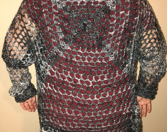 Sweater Cardigan Lacy