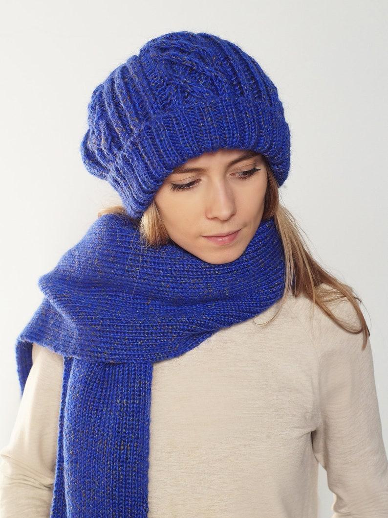 f331511afb4c4 Cashmere Cap Mohair Hat Knit Cap Women s hat Wool Cap