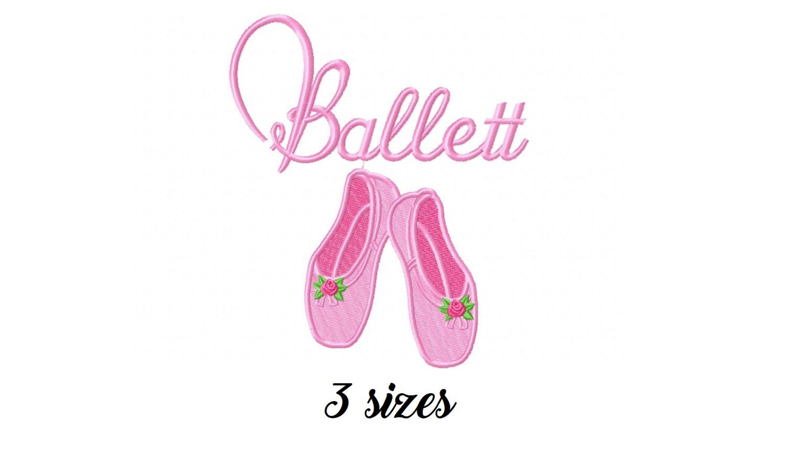 one free! ballet shoes filled machine embroidery design, embroidery girls, ballerina design, girl embroidery, embroidery balleri