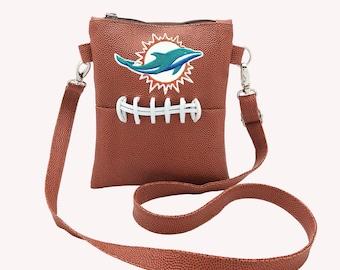 Miami Dolphins cross body purse