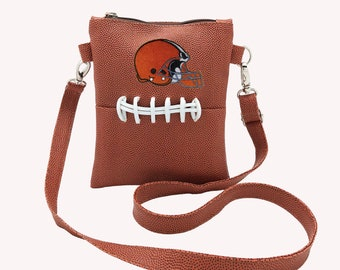 Cleveland Browns cross body purse