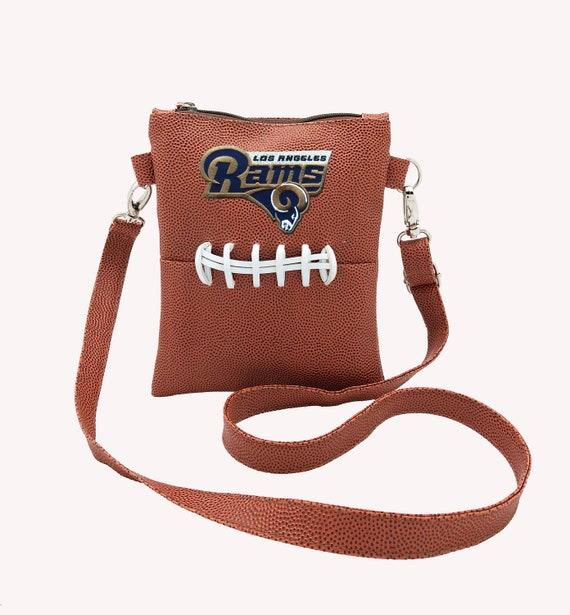 c55cb16c10f Los Angeles Rams cross body purse   Etsy