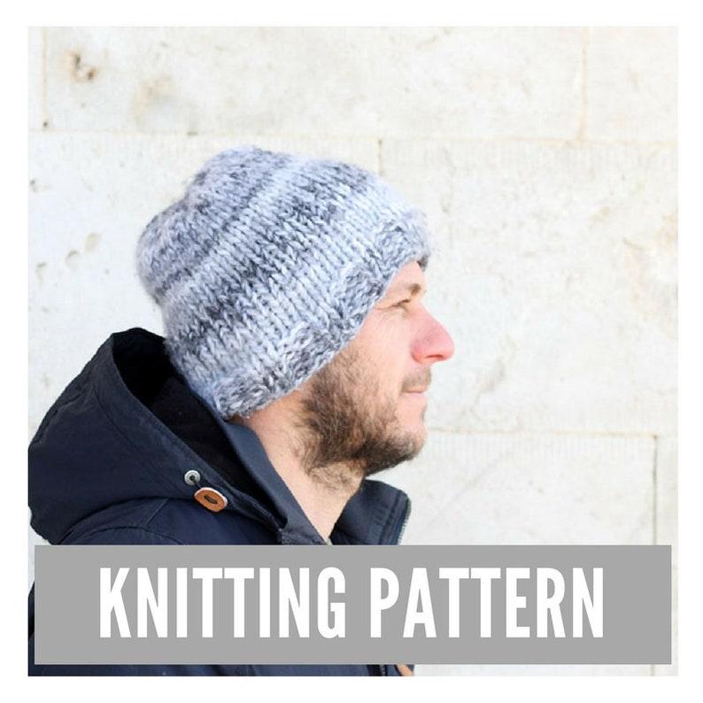 b9250c88b85 Knitting Pattern   Men s hat pattern   Men s knit hat