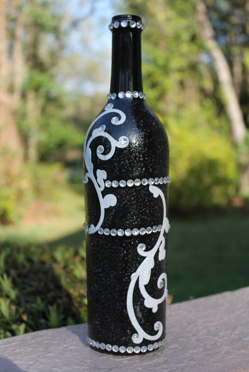 Black Magic Wine Bottle