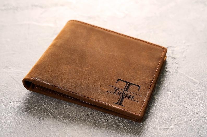 9666908732e9 Personalized Wallet Mens Wallet Leather Wallet Bifold Wallet