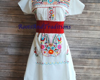 Embroidered Dresses From Mexico