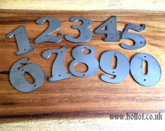 House Number - Steel/Metal