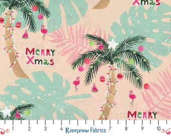 Christmas Palm   Fabric Merchants   Fabric By the Yard   Quilter's Cotton