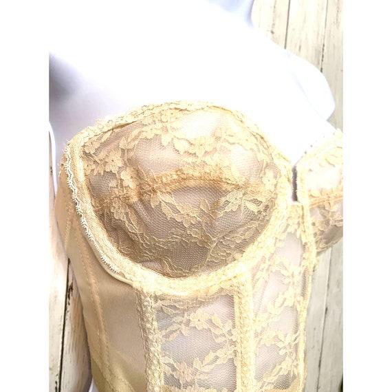Vintage Lace Backless Corset - image 2