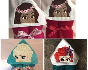bath towel Moana chicken pool towel beach towel Chicken towel Moana gift children/'s gift Hei Hei Hooded Towel personalized gift