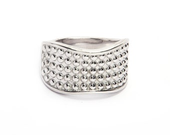 925 sterling silver ring madre by hand