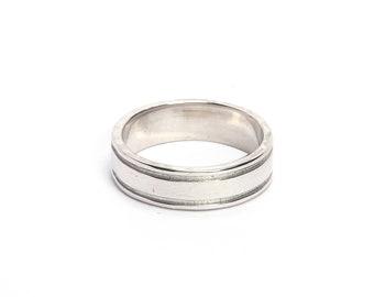 Handmade ring 925 sterling silver plain ring