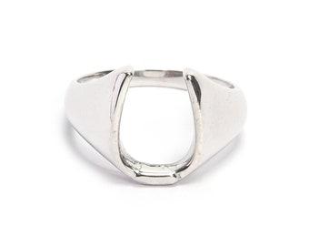 Handmade 925 sterling silver ring, plain ring