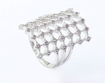 925 silver ring, amethyst ring,Beautiful ring