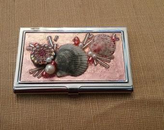 Embellished Business Card Case