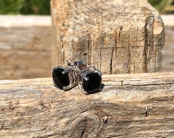 925 silver earrings and semi-precious stones