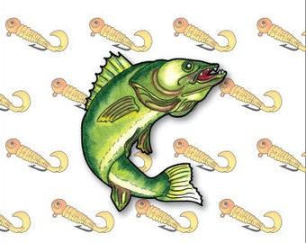 Notecards Walleye (Fish)