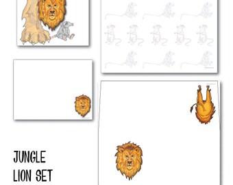 Lion Complete Set (Jungle)