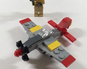 """Micro Warbirds - P-51D Mustang - """"Tuskegee Red Tail"""""""