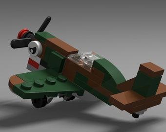Micro Warbirds - P-40 Warhawk