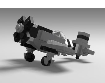 "Micro Warbirds - P-47 Thuderbolt - ""No Guts, No Glory"""