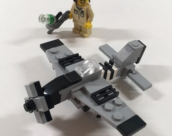 """Micro Warbirds - P-51D Mustang - """"Quick Silver"""""""