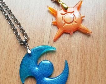 "Pokemon Sun Moon Jewelry Red Pokeball Pendant 20/"" Necklace Pikachu Pokémon Go US"