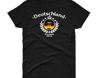 Deutschland Germany Alemania German Soccer  Women's short sleeve t-shirt