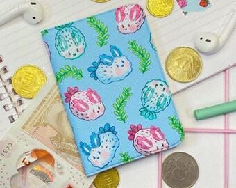 Card wallets | Sea Bunnies Card Wallet | Business Card Holder | Wallet | Kawaii | Mini photo Album