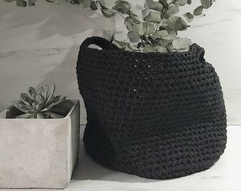 DYER crochet basket