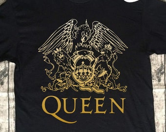 766f511f558aa6 Vintage Queen Rock Band Shirt Vintage TShirt For Men Women 70s 80s Sayings  Rock Band Graphic Design Retro Music