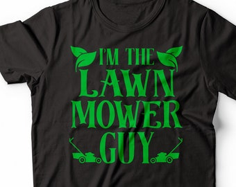 f3424899 Mower T-Shirt Gift Forager Shirt : I'm Lawn Mower Guy Funny Mowing Shirt  Cutting Lover Shirt For Lawn Mower, Forager