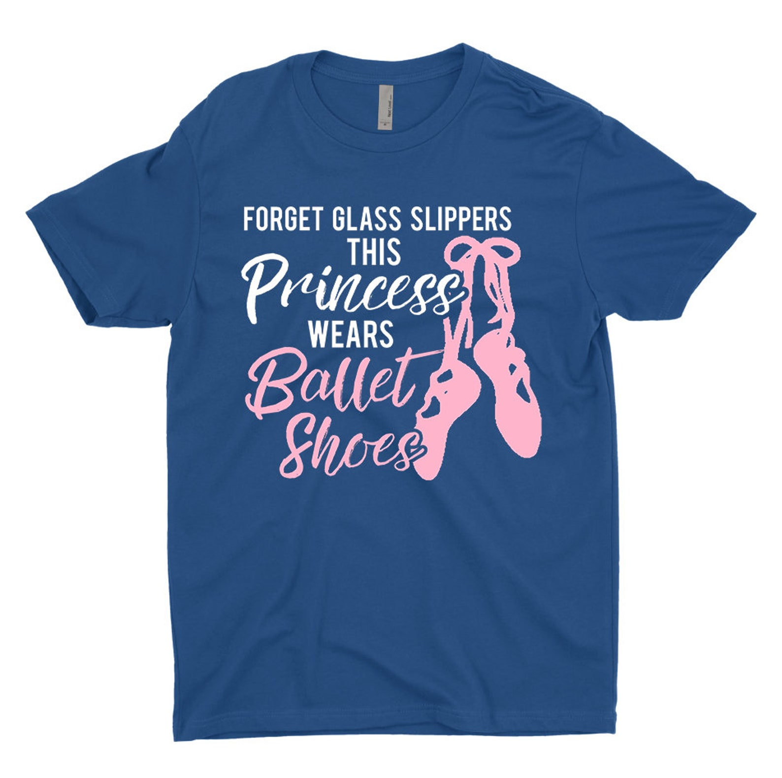 dancing gift dancing shirt dancer shirt forget glass slippers this princess wears ballet shoes t-shirt