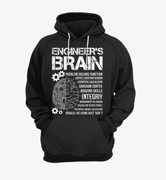 c95a304fba Engineer s Brain T-shirt Engineer Vintage Shirt Gift
