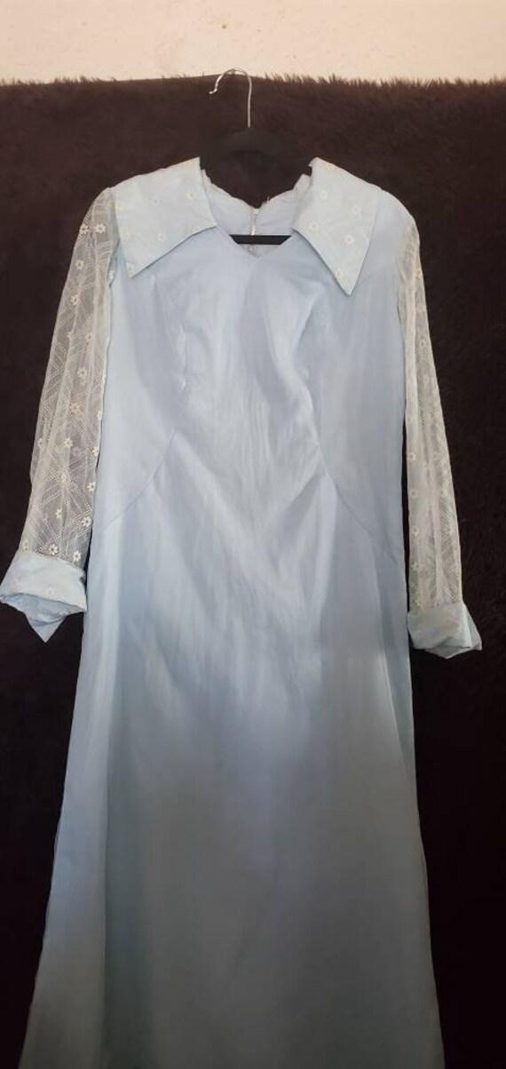 Womens Vintage 1950s Bridesmaid Dress/Prom Dress/