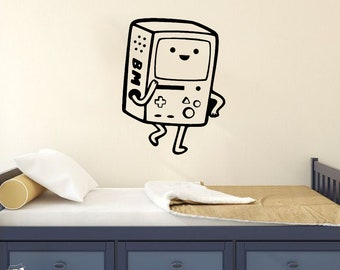 Adventure Time Bmo Vinyl Decal Sticker For Decoration Finn & Jake Art Cartoon