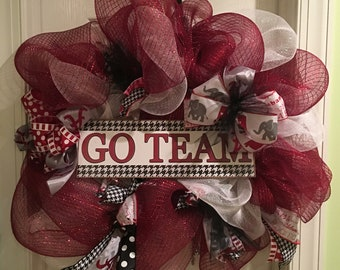 Alabama Go Team Wreath