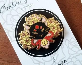 Bakeneko Hard Enamel Pin |Japanese Collection|