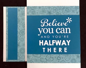 Believe You Can... - Teal, Turquoise