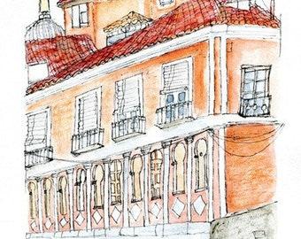 Spanish Town House